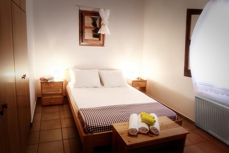 Aegean penthouse kolympada's bedroom