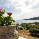 Aegean view penthouse kolympada
