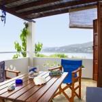 Skyros apartments Thalassia Sarakino balcony