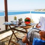 Skyros penthouse Kalamitsa aegean view