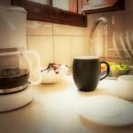 coffe maker at aegean apartments Nyfi