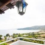 Aegean studio Rennes balcony view