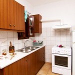 fully equiped kitchen skyros apartment renes