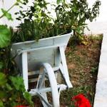 Skyros studios garden decoration