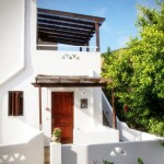 skyros apartment Renes outside view