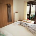 Aegean studio Sarakino bed